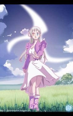 Nanatsu no Taizai Volume 32 Goddess Elizabeth by Elizabeth Seven Deadly Sins, Seven Deadly Sins Anime, 7 Deadly Sins, Meliodas And Elizabeth, Elizabeth Liones, Anime Angel, Anime Demon, Yandere Anime, Manga Anime