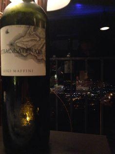 Il Pietraincatenata di Luigi Maffini con vista panoramica da Castellabate in Cilento dal ristorante Cantina Belvedere.  #fiano #cantinabelvedere
