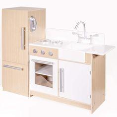 Amazon.com: ihubdeal Deluxe Kitchen Kids Pretend & Play Set Toy Set Sink, Stovetop Refrigerator Fridge Cabinet Freezer Cordless Phone Playset: Toys & Games