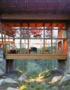 Olson Sundberg Kundig Allen Architects - contemporary - exterior - seattle - Quantum Windows & Doors, Inc.
