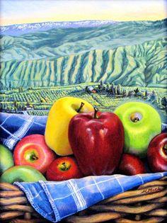 Jan Cook Mack, Apple Rainbow