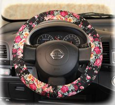 Steering wheel cover bow wheel car accessories lilly