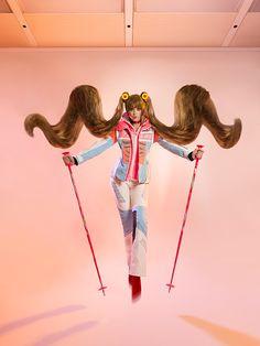 For Bolero Magazine Switzerland December 2014 Bogner Fashion Model: Chantal Hofstetter @ Option Styling: Miriam Dembach Make-Up: Patrick Kaestli Hair  December 2014, Switzerland, Editorial Fashion, Fashion Models, Portrait Photography, Magazine, Hair, Magazines, Models