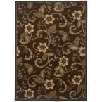 Newcastle Brown 3 ft. 2 in. x 5 ft. 7 in. Area Rug