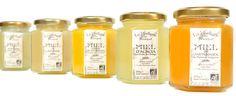 Sélection de miels issus de l'agriculture biologique produits par Miellerie du Bousquet