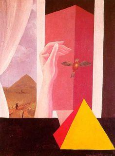 16 René Magritte (1898-1967) - La fenêtre (1925)