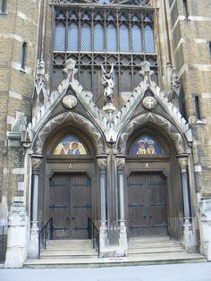 Beautiful double Church Doors.