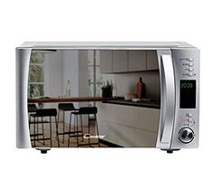 Candy Microwave with Grill Candy 25 L Stainless steel If you are looking for household appliances at the best prices, don't miss the Microwa. Microwave Grill, Microwave In Kitchen, Built In Microwave, Kitchen Appliances, Stainless Steel Grill, Black Stainless Steel, Kitchenette, Four A Convection, Finding Nemo