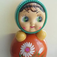 I always wanted one of these @rubyellen bratcher Roly Poly doll