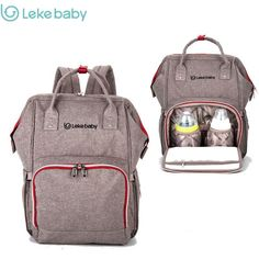 db01cb3d492 Brand Baby Bag Fashion Nappy Bags Large Diaper Bag Backpack Baby Organizer  Maternity Bags For Mother