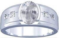 Mens sapphire rings are suitable for men for many good reasons. Sapphire rings cost less than a diamond, emerald or ruby ring. Mens Emerald Rings, Sapphire Rings, Sapphire Jewelry, Topaz Ring, White Sapphire, Diamond Rings, Gold Rings, Cool Rings For Men, Man Ring