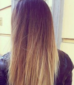 Get ombre hair one day