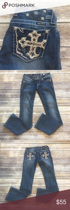 "Miss Me Boot Cut Jeans Miss Me Boot Cut Jeans front rise 8""/ back 10""/ inseam 33"". Miss Me Jeans Boot Cut"