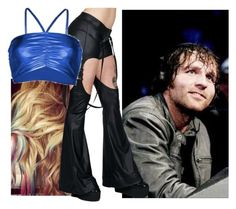 """""""Dean Watching Your Match!!"""" by imblissedoff ❤ liked on Polyvore featuring Lauren Conrad, Cyberdog, WWE and DeanAmbrose"""