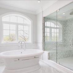 #bathroomgoals #white