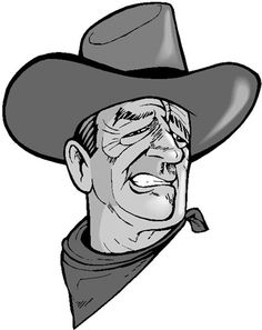 John Wayne (caricature) Bing Bilder (Duke) Dunway Enterprises http://dunway.us - http://www.amazon.com/gp/product/1608871169/ref=as_li_tl?ie=UTF8&camp=1789&creative=390957&creativeASIN=1608871169&linkCode=as2&tag=freedietsecre-20&linkId=IUZSYU2HONZ62E24