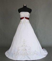 Brautkleid Rot Weiss Frisuren Pinterest