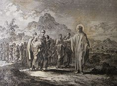 Jan Luyken's Gospel 58. The Rich Ruler. Phillip Medhurst Collection on Flickr.Jan Luyken's Gospel 58. The Rich Ruler. Phillip Medhurst Collection
