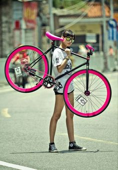 If only it was a road bike rather than a track bike