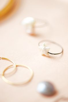 wire ring tutorial by Lebenslustiger.com, instructions for a wire ring with pearl