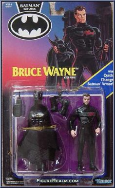 Kenner Batman Returns Series 1 Bruce Wayne Figure 1992