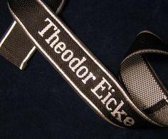 Theodor Eicke Cuff Title   BeVo   Officer