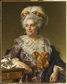 Madame Charles Pierre Pécoul, née Potain, belle-mère de l'artiste / David, Jacques Louis / © RMN - Grand Palais (Musée du Louvre) / René-Gabriel Ojéda