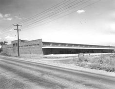 C. 1955, a new Miller & Rhoads Department store warehouse on Hermitage Avenue.   V.86.153.822   Richmond History Center - Virginia State Chamber of Commerce