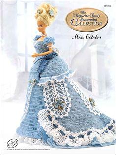 Crochet - Doll Patterns - Bed Doll Patterns - Centennial Miss October 1993