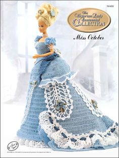 Barbie Crochet: Centennial Miss October 1993, $3.95 on e- patternsCentral