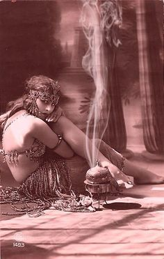 "Veil Bakhoor - A tiny rose in very jar.... The scent of flowers, resins, roots and precious woods combine in a traditional Bakhoor style blend This blend has the mystique of a Middle Eastern Goddess , the ""Queen of Heaven"". A potent scent created to compliment the erotic movements of a veiled dancer. This truly exotic incense blend is a beautiful offering with small resin tears , rose petals, and precious woods touched with Rose oil."
