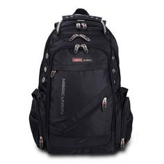 ccc9c1648bce Backpacks MAGIC UNION Brand Design Men s Travel Bag Man Backpack Polyester  Bags Waterproof Shoulder Bags Computer Packsack Wholesale   Find out more  by ...