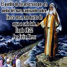 Imágenes Cristianas : EXODO 14:22