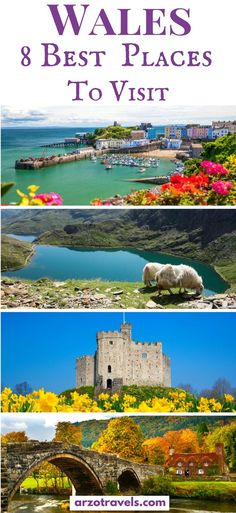 Find out about the best places to visit in Wales and the best things to do. I Most beautiful places in Wales I Where to go in Wales I Wales Places to See I Things to do in #Wales