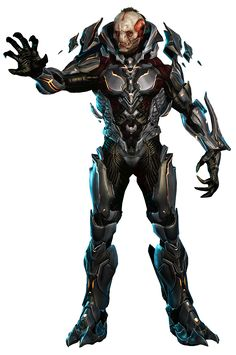 Halo 4 - The Didact (Render) HQ by Crussong.deviantart.com on @deviantART