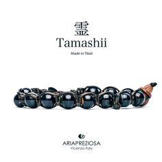 Tamashii - Bracciale Tradizionale Tibetano Occhio Di Tigre Blu