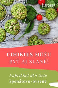Toto je ozaj zdravý snack či už do práce, na desiatu deťom do školy alebo aj ako snack na túry. A rovnako sa nemusíš hanbiť ponúknuť týmito cookies aj návštevy. #Cookies #ZdravePohostenie #SpenatoveRecepty
