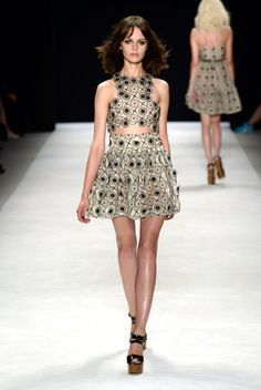 Spring fashion 2014 crop top...
