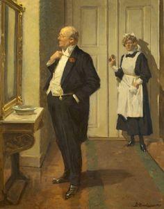 Erik Ludwig Henningsen (Danish painter, 1855-1930).