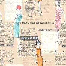 Michael Miller - Make It Work Fabric