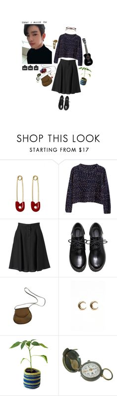 """jinyoung・゚✧"" by rotchenkova ❤ liked on Polyvore featuring Kristin Cavallari, Chicnova Fashion, Margaret Howell, Charles Jourdan, LowLuv and Wildfox"