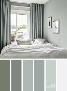 25 Best Color Schemes for Your Bedroom Sage color for bedroom color palette co. - 25 Best Color Schemes for Your Bedroom Sage color for bedroom color palette colour palette co 25 - Bedroom Colour Palette, Bedroom Color Schemes, Master Bedroom Color Ideas, Paint Colors For Bedrooms, Sage Color Palette, Guest Bedroom Colors, Apartment Color Schemes, Bedroom Styles, Bedroom Ideas
