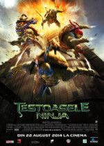 """This new international poster for the Michael Bay produced Teenage Mutant Ninja Turtles reboot puts Leonardo, Raphael, Michelangelo and Donatello in the picture together for the first time. Check out the """"Tartarugas Ninjas"""" after the jump. Teenage Mutant Ninja Turtles, Ninja Turtles 2014, Ninja Turtles Movie, Ninga Turtles, Teenage Turtles, Will Arnett, Jurassic World, Guerrero Ninja, Master Splinter"""