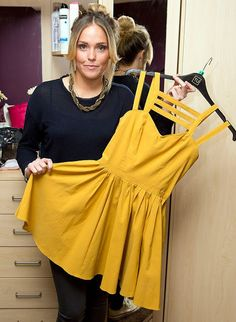 Aimi Jones Accidentally uploaded her naked picture when trying to sell her yellow dress on eBay