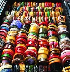 Wow!  This makes me want to collect bangles!