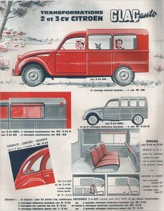 French-speaking vintage car advertising posters page 5 old documents Hy Citroen, Psa Peugeot Citroen, Retro Cars, Vintage Cars, Antique Cars, Classic Motors, Classic Cars, 2cv6, Car Posters