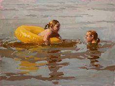 Summer Time Livin' by Jennifer Diehl Oil ~ 12 x 16