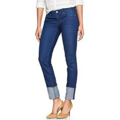 Gap 1969 jeans Gap always skinny cuffed 29 jeans. Good condition. Wore maybe 3 times GAP Jeans