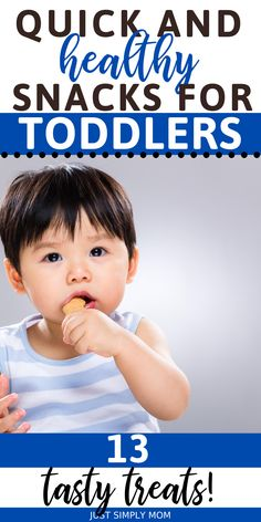 Healthy Homemade Snacks, Healthy Toddler Snacks, Healthy Snack Options, Toddler Meals, Toddler Toys, Healthy Kids, Toddler Activities, Healthy Eating