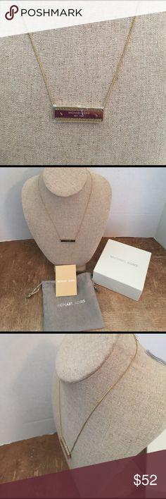 MICHAEL KORS Gold-tone  Pendant Necklace New 🌸 MICHAEL KORS Gold-tone Pendant Necklace New 🌸 Michael Kors Jewelry Necklaces